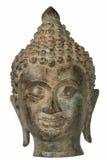 Bronzo della testa di Buddha Immagini Stock