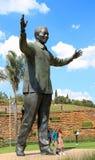 Bronzo di Nelson Mandela Fotografia Stock Libera da Diritti