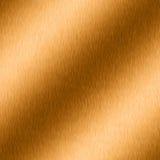 Bronzo spazzolato con highligh Fotografia Stock