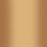 Bronzo spazzolato del metallo Fotografie Stock Libere da Diritti