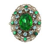 Brooch antiquado Imagem de Stock Royalty Free