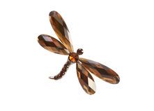 Brooch As Dragonfly Royalty Free Stock Image