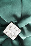 Brooch on cloth Royalty Free Stock Photos