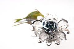 Brooch flower Stock Image