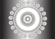 Brooch.Pattern. Imagen de archivo libre de regalías