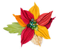 Brooch in the shape of a flower Stock Photos