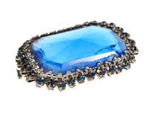 Brooch. Studio isolated photo of a beautiful brooch Stock Photo