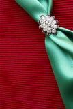 Brooch- van de diamant achtergrond royalty-vrije stock afbeelding