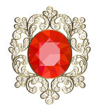 Brooch Royalty Free Stock Images