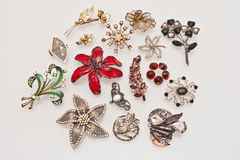 Brooches Royalty Free Stock Image