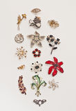 Brooches Stock Photography
