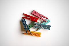 Brooches colors Royalty Free Stock Photography