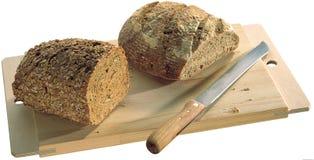 Brood aan boord stock afbeeldingen