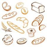 Brood, bakkerij royalty-vrije illustratie