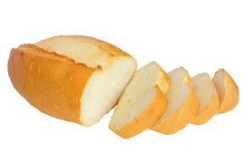 Brood, besnoeiing in plakken Stock Foto