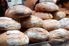 Brood bij de markt Stock Foto's
