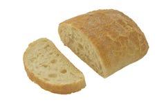 Brood, dat op wit wordt geïsoleerd Royalty-vrije Stock Afbeeldingen