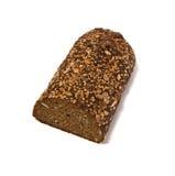 Brood dat op wit wordt geïsoleerd Royalty-vrije Stock Foto's