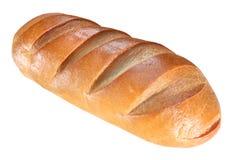 Brood dat op wit wordt geïsoleerds Stock Afbeelding