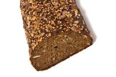 Brood dat op wit wordt geïsoleerdt Stock Foto