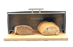 Brood in een brooddoos Royalty-vrije Stock Foto's