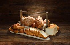 Brood en bakkerij Royalty-vrije Stock Afbeeldingen