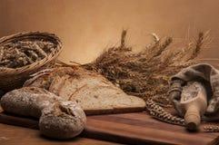 Brood en broodjes traditioneel thema Royalty-vrije Stock Foto