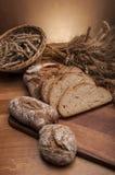 Brood en broodjes traditioneel thema Royalty-vrije Stock Fotografie