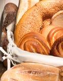 Brood en het drogen stock foto