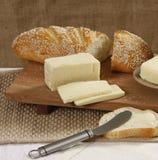 Brood en kaas royalty-vrije stock afbeelding