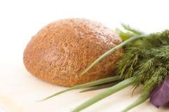 Brood en kruiden Royalty-vrije Stock Foto