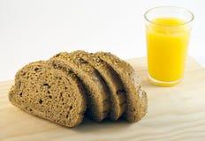 Brood en sap Stock Afbeeldingen