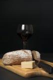 Brood en wijn Royalty-vrije Stock Foto