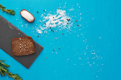 Brood en zout Stock Afbeeldingen