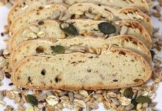 Brood, gewassen en zaden Royalty-vrije Stock Afbeelding