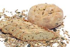 Brood, gewassen en zaden Stock Afbeeldingen