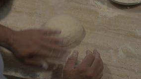 Brood het maken stock video