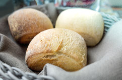 Brood in mand stock fotografie