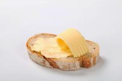 Brood met boter Stock Foto's