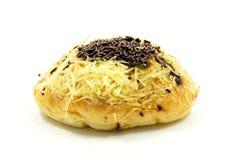 Brood met het bestrooien van chocolade en kaas Royalty-vrije Stock Foto's