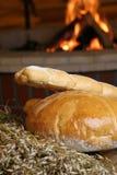 Brood met open haard Stock Afbeeldingen