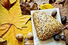 Brood met zaden Royalty-vrije Stock Foto's