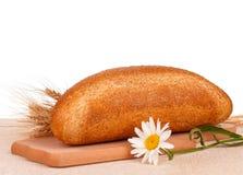 Brood met zemelen Stock Foto's