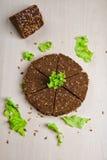 Brood met zonnebloemzaden Royalty-vrije Stock Foto's
