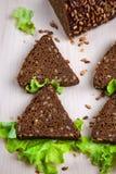 Brood met zonnebloemzaden Stock Fotografie