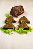 Brood met zonnebloemzaden Royalty-vrije Stock Fotografie