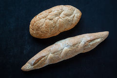 Brood op bord Royalty-vrije Stock Foto
