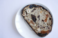 Brood op een plaat Royalty-vrije Stock Fotografie