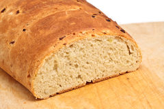 Brood op Scherpe Raad Royalty-vrije Stock Foto