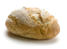 Brood op wit Royalty-vrije Stock Fotografie